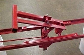 hydraulic lift for garden wagons