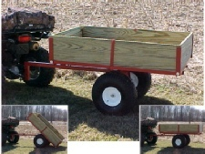 lawn cart heavy duty