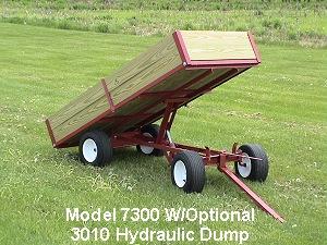 dump utility wagon