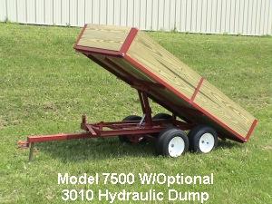 utility dump trailer