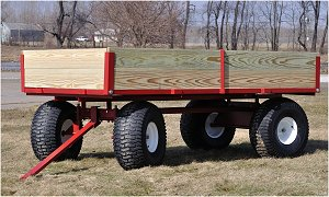 lawn utility wagon
